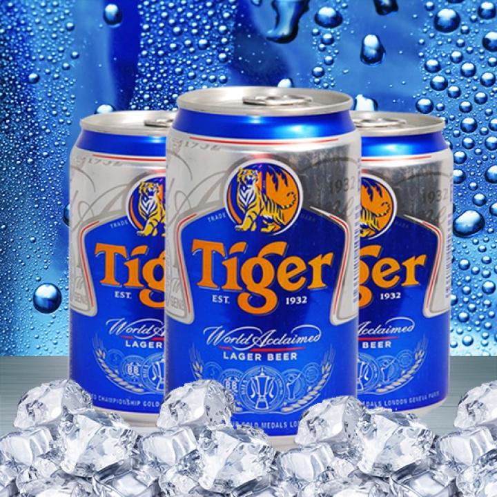 [HCM]Thùng 24 lon Bia Tiger 330ml
