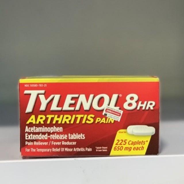 Vỏ Hộp Đựng Tylenol 225 Viên 650Mg
