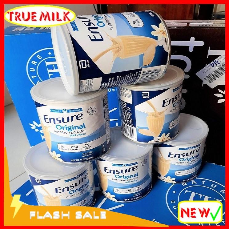 Combo 6 lon sữa Ensure Original Vani 397g (Flash Sale)- Ensure - Sua bot Ensure - Ensure My - Sua Bot - sua ensure - ensure vani - huong vani