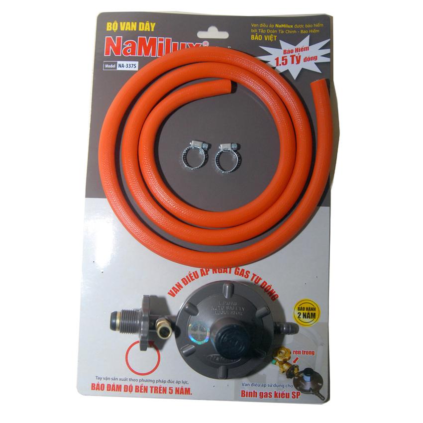 Bộ van dây gas điều áp ngắt gas tự động Namilux