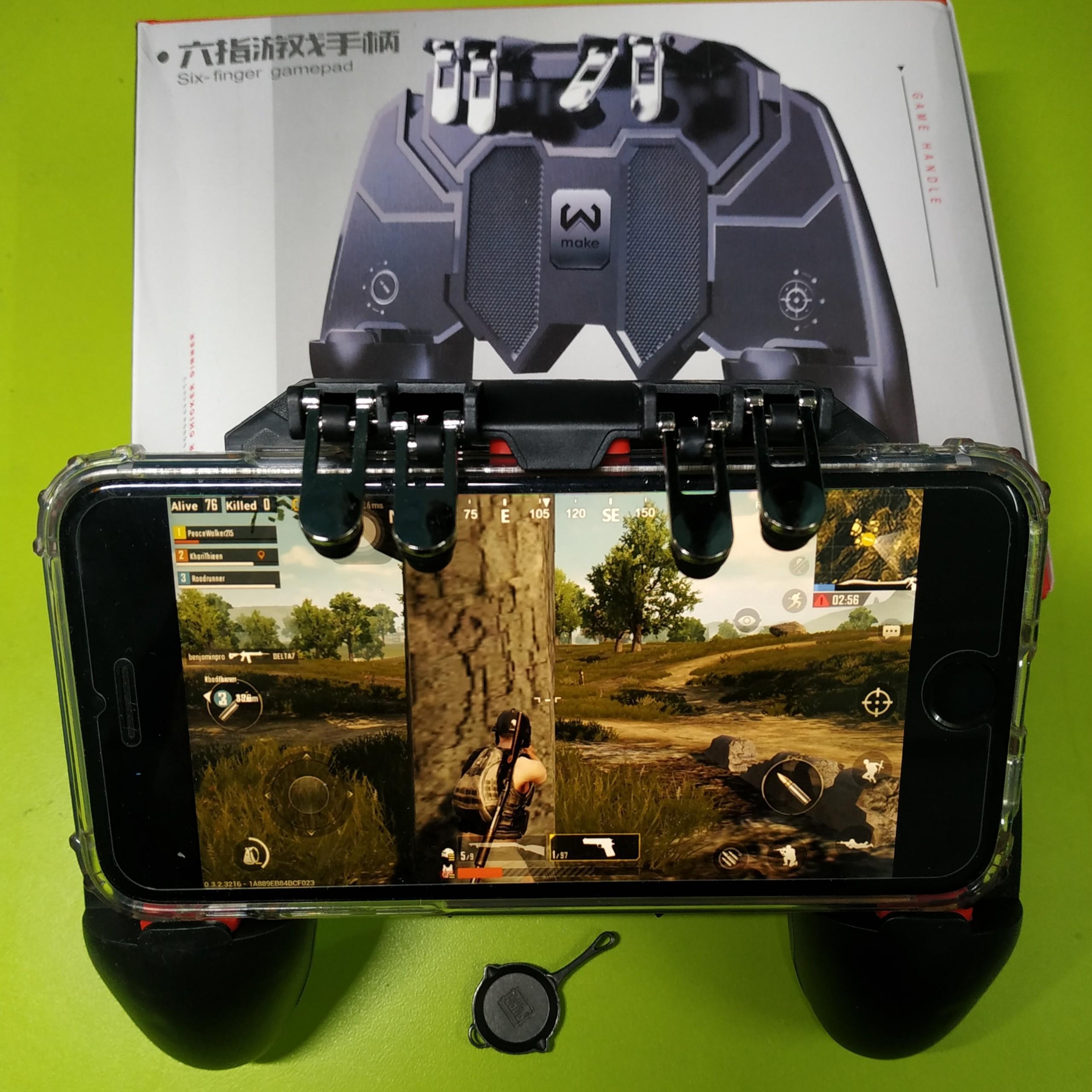 Tay cầm chơi game PUBG AK-66 - Tặng 1 chảo sắt PUBG