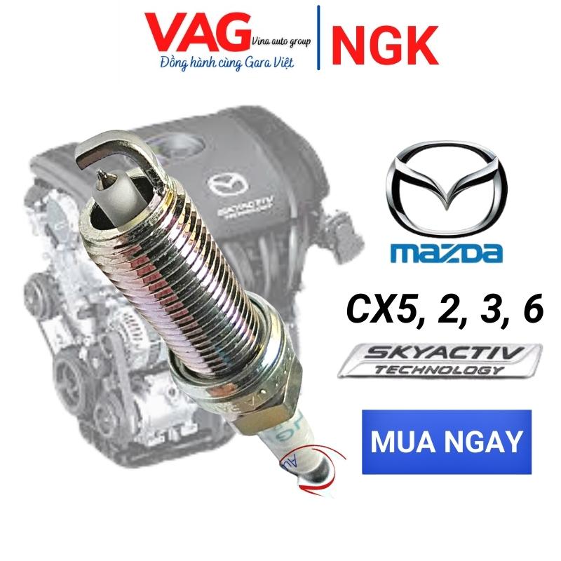 [ Chính hãng] Bugi Mazda 3 Mazda 6 CX5 Mazda 2 Từ Năm 2013- 2021  Chính Hãng  NGK  |Laser Iridium công nghệ mới