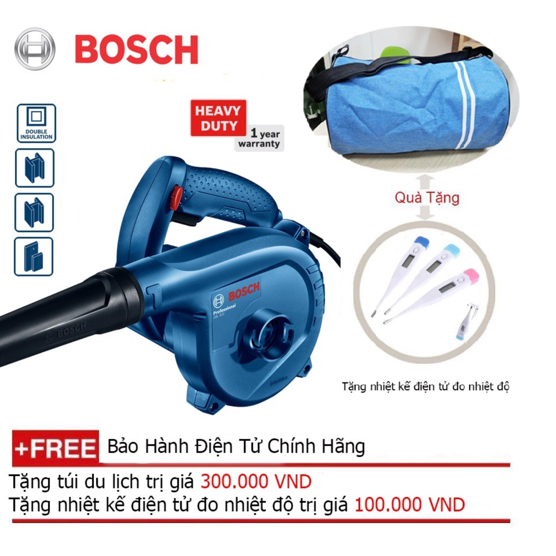 Máy thổi bụi Bosch GBL 82-270 + Quà tặng balo du lịch