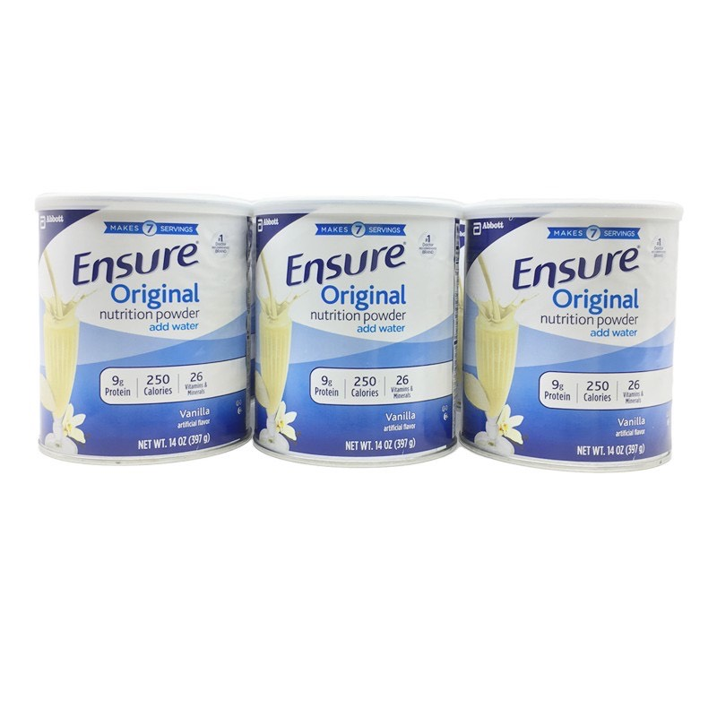 DATE 2023 Lốc 6 lon Sữa Ensure ORIGINAL Mỹ -397g