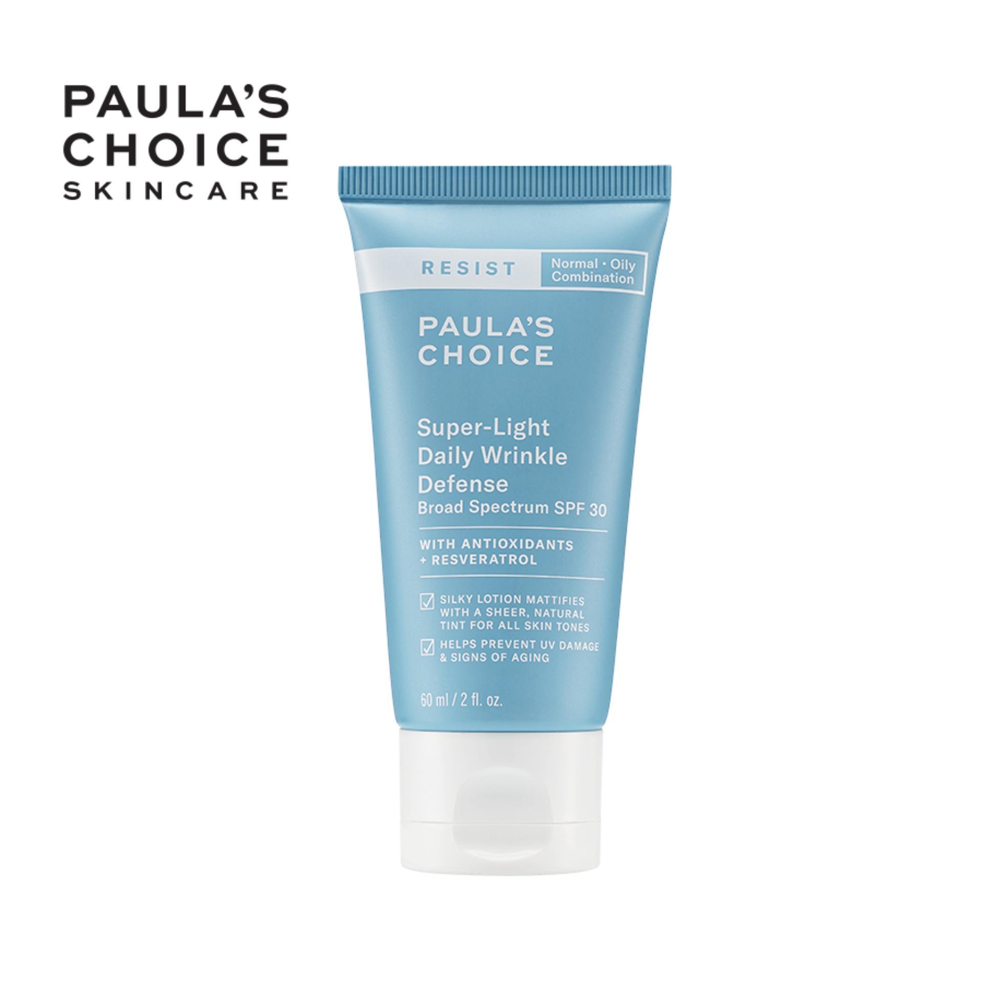 Kem dưỡng ngày chống nắng siêu nhẹ Paula's Choice Resist Super - Light Daily Wrinkle Defence SPF 30-7760
