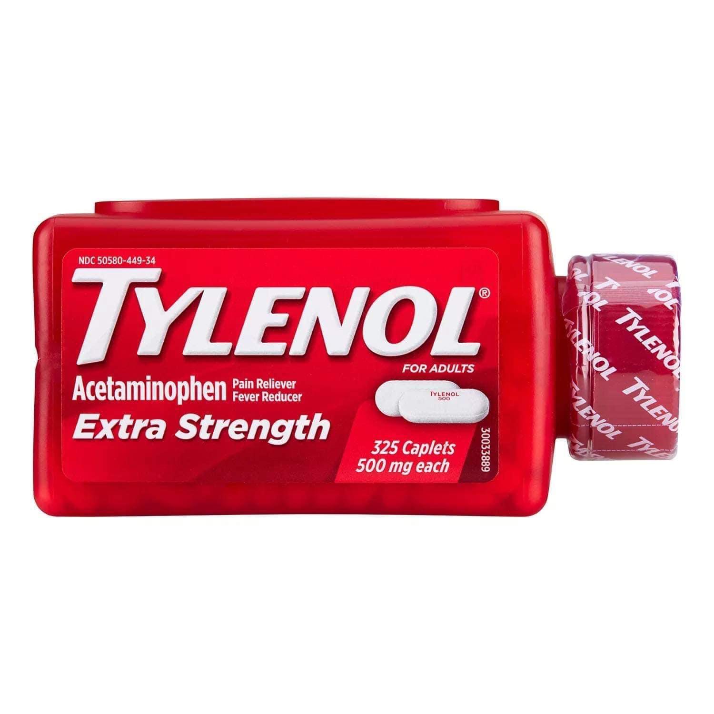 TYLENOL EXTRA STRENGTH - HỘP 325 VIÊN