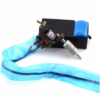100 Tattoo Machine Clip Cord Sleeves Cover Bags Clean Safety Supply- intl