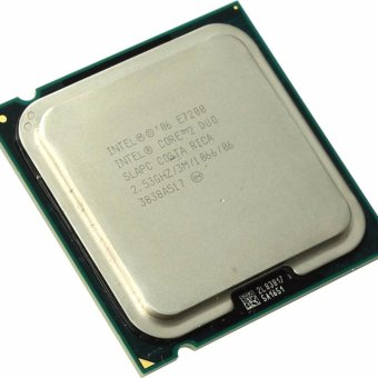 CPU intel core e7200