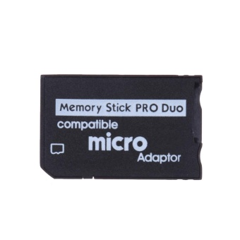 Mini Memory Stick Pro Duo Card Reader New Micro SD TF to MS CardAdapter - intl