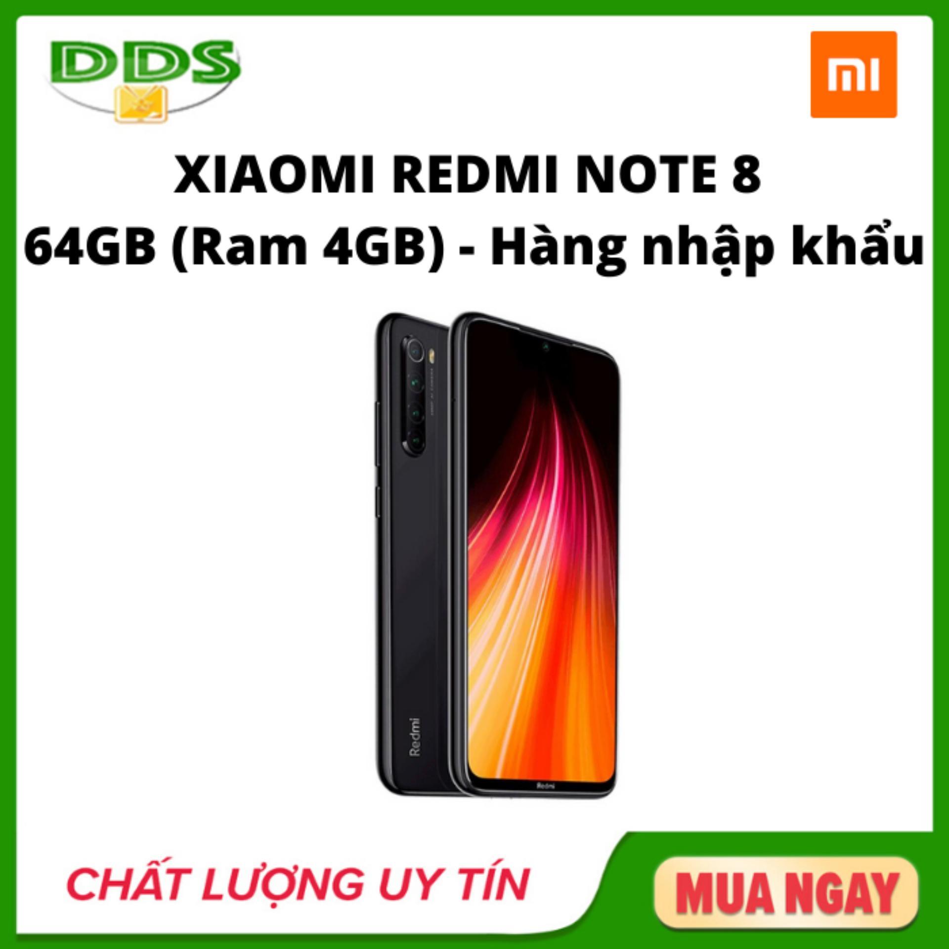 Xiaomi Redmi Note 8 Ram 4GB 64GB - Hàng nhập khẩu