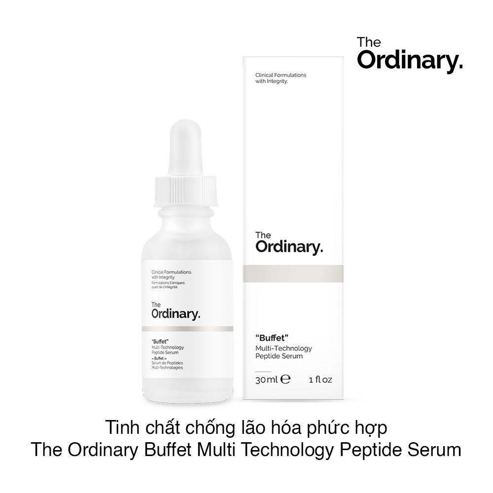 Serum chống lão hóa The Ordinary Buffet Multi-Technology Peptide Serum 30ml