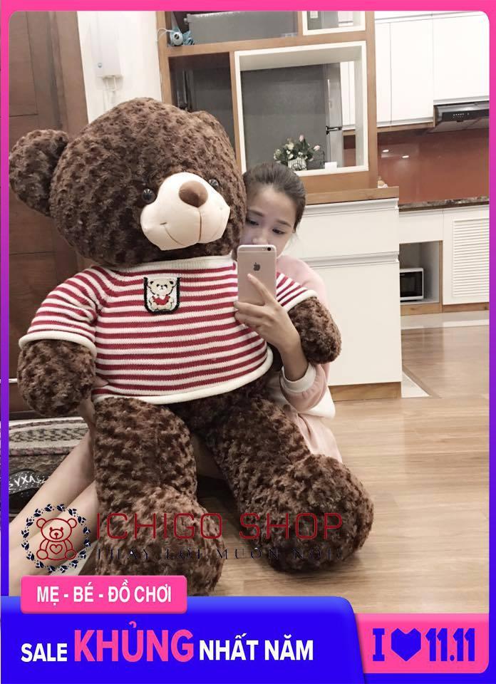 Gấu bông teddy siêu dễ thương khổ vải 1m2 chất liệu bông xoắn 3 chiều mềm mại không rụng lông an toàn cho người dùng