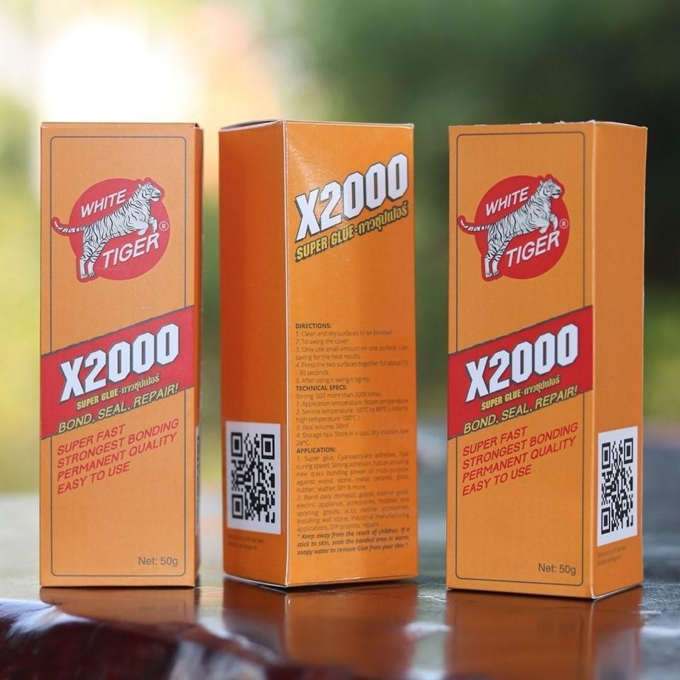 [Giá Rẻ Vô Địch ]Keo dán X2000 Siêu gắn kết dán tất cả các vật liệu keo dán gỗ Kính nhựa thủy tinh kim loại gốm sứ dán đế giày...Keo gắn đa năngkeo dán siêu dính