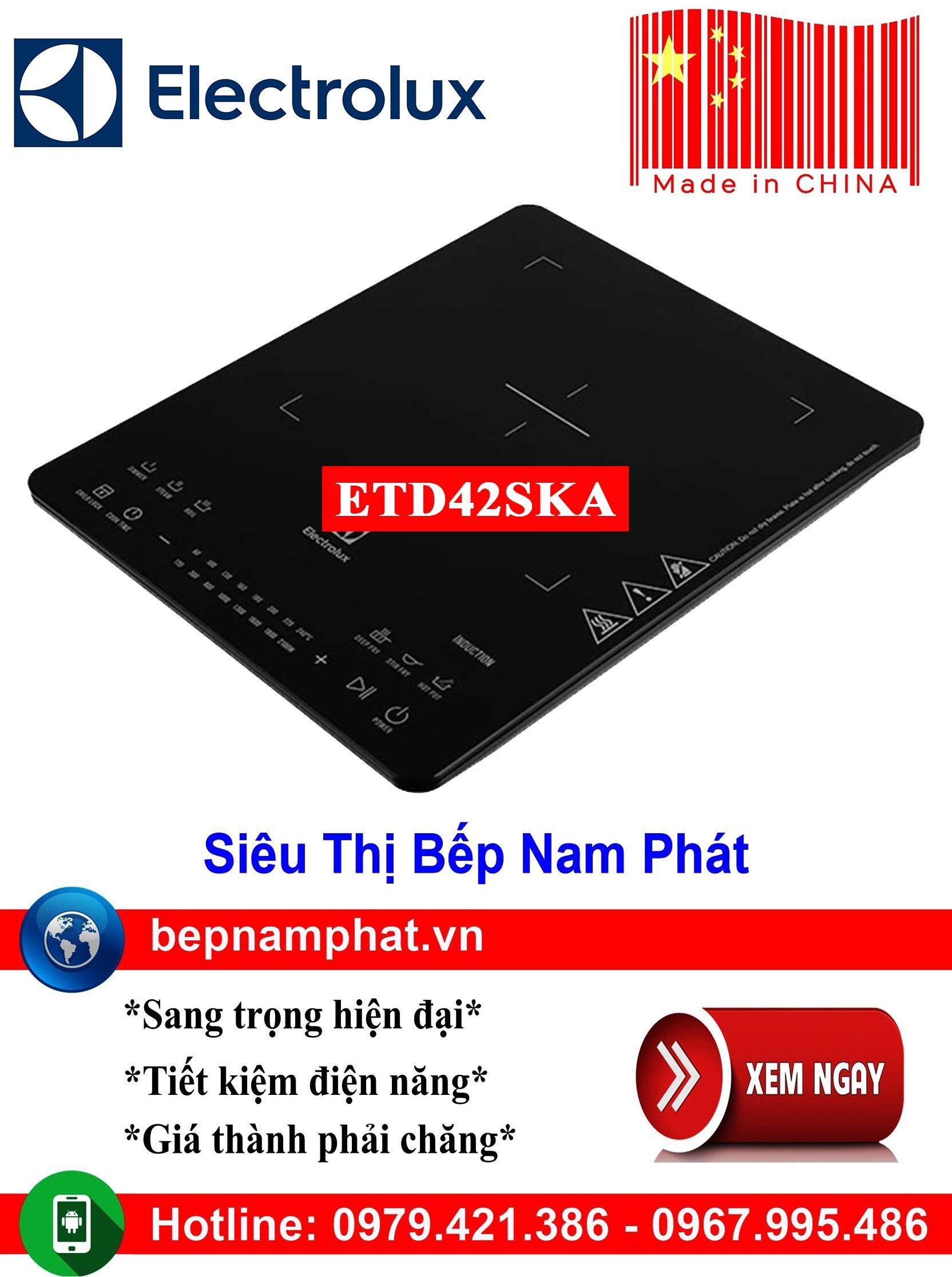 Bếp từ đơn Electrolux ETD42SKA sản xuất Trung Quốc bếp từ bếp điện từ bếp từ đôi bếp điện từ đôi bếp từ giá rẻ bếp điện từ giá rẻ bếp từ đơn bep tu don bep tu