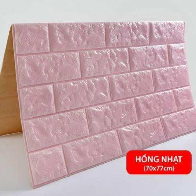Combo 5 tấm xốp dán tường cách âm cách nhiêt ( khổ 70*77cm) - Có keo dính siêu chặt Có độ bền cao Thích nghi tốt với khí hậu Việt Nam