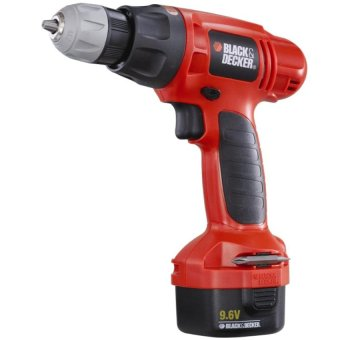 Máy khoan pin 10mm-9.6V BLACK & DECKER CD961K (Cam)