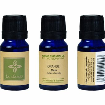 Tinh Dầu La Champa Cam Ngọt (Sweet Orange) Aroma Essential Oil 10ml