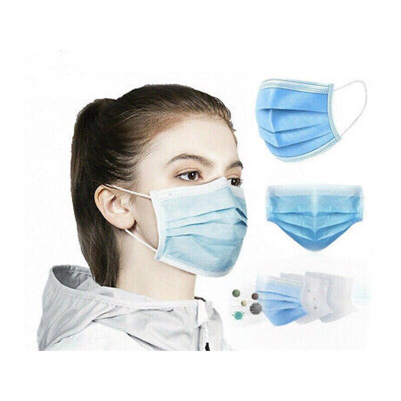 [HCM]Khẩu Trang Y Tế 4 Lớp - Hộp 50 cái khẩu trang y tế 4 lớp kháng khuẩn