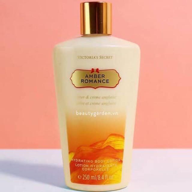 [HCM]Sữa dưỡng thể VICTORIA'S SECRET - Amber Romance Hydrating Body Lotion 250ml