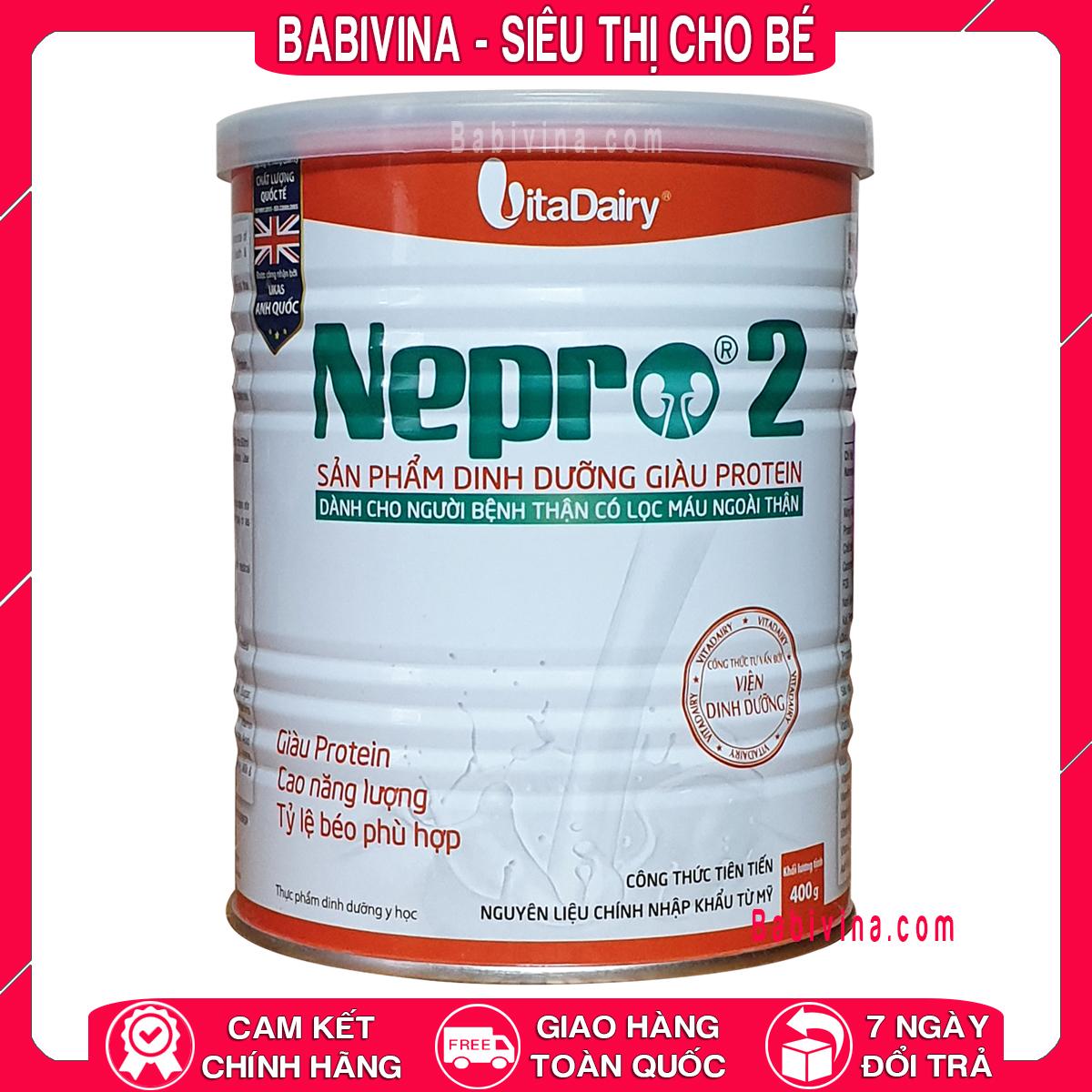 [LẺ GIÁ SỈ] Sữa Thận Nepro 2 400g Cho Bệnh Nhận Chạy Thận, Có Lọc Máu Ngoài Thận