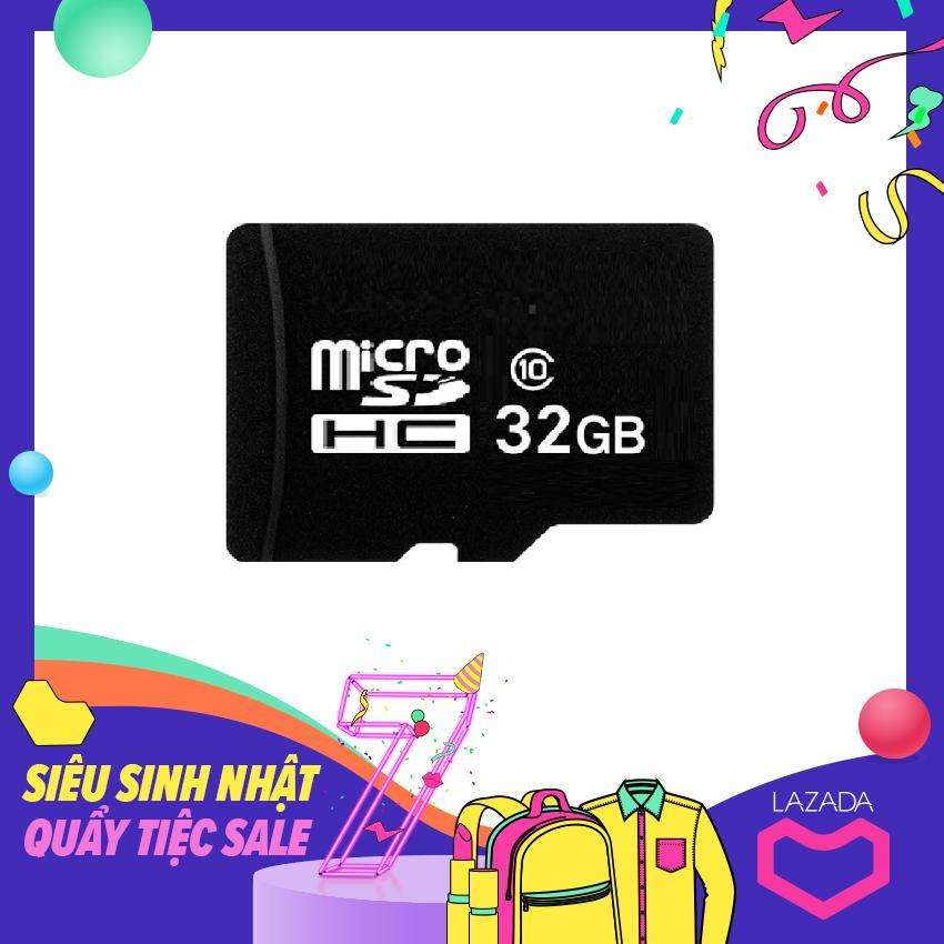 Thẻ Nhớ MicroSD 32Gb (Đen) 16Gb Đen