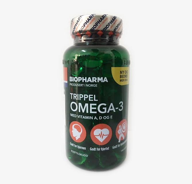 Dầu cá Omega 3 Na-uy(TRIPPEL OMEGA 3) dành cho mọi lứa tuổi