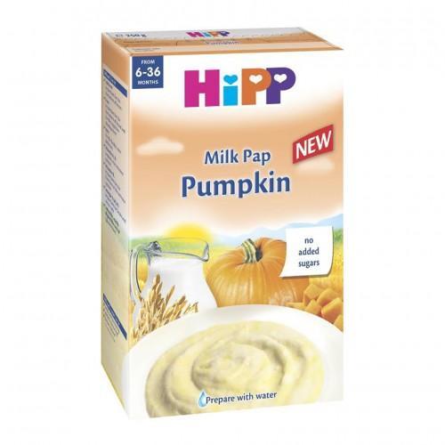 Bộ 2 Bột ăn dặm HiPP sữa và rau củ (bí đỏ) 250g