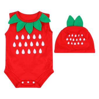 Bộ Bodysiut Fruit - BDS02 - Mihababy - Size 4