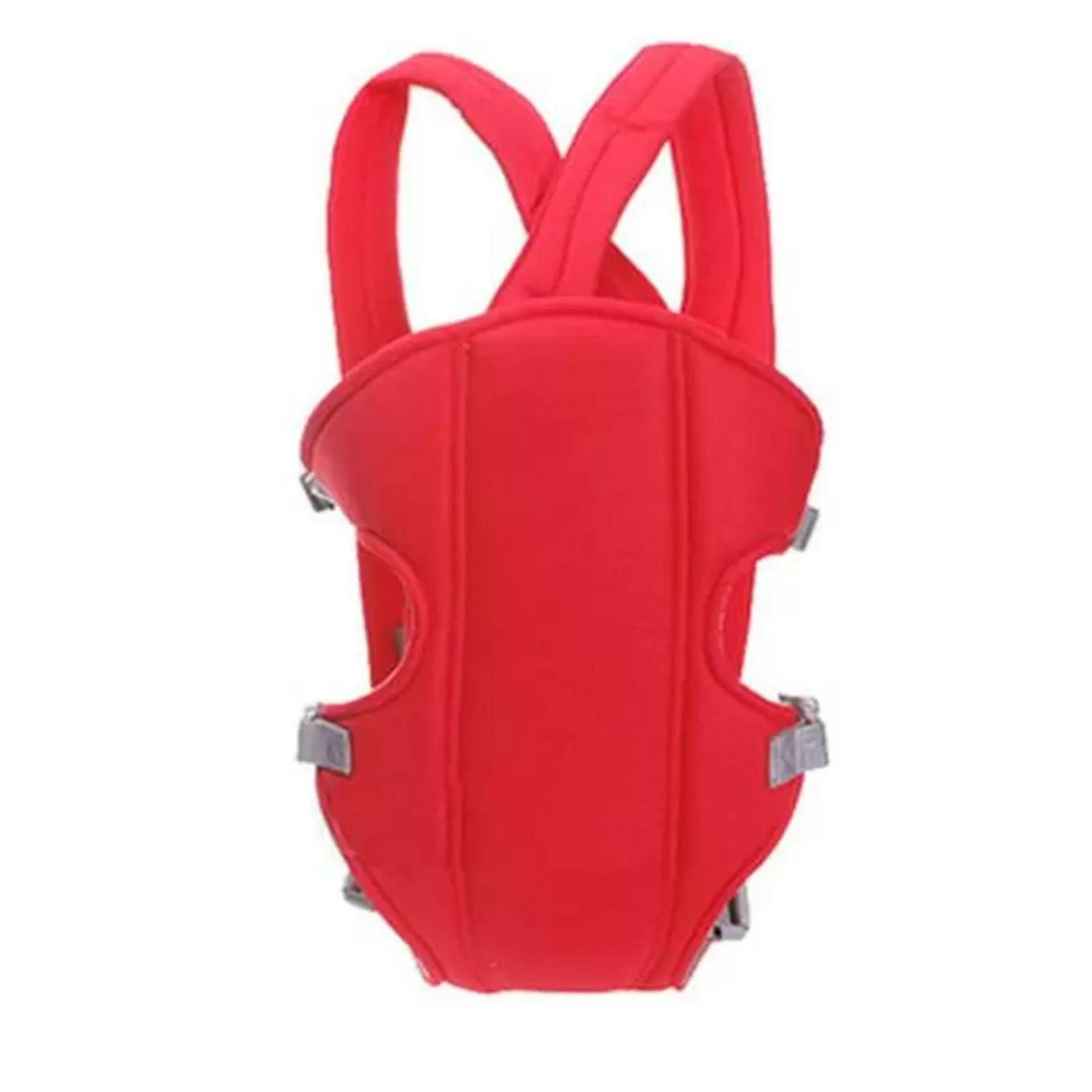 Đai địu em bé 6 tư thế Baby Carrier (Đỏ)