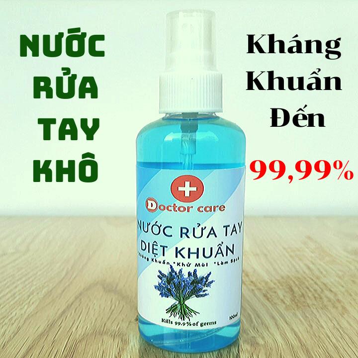Nước rửa tay khô Diệt Khuẩn Doctor Care-Hương Cam Bạc Hà