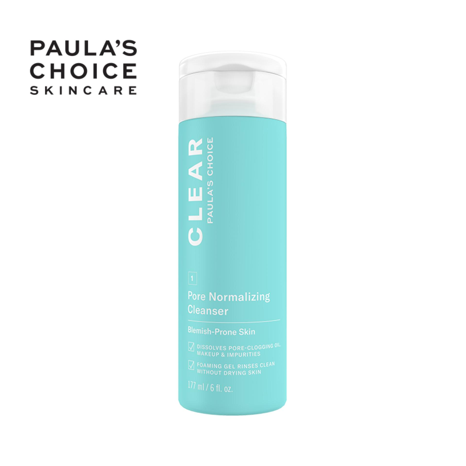 Sữa rửa mặt ngăn ngừa mụn và se khít lỗ chân lông Paula's Choice Clear Pore Normalizing Cleanser 177 ml 6002