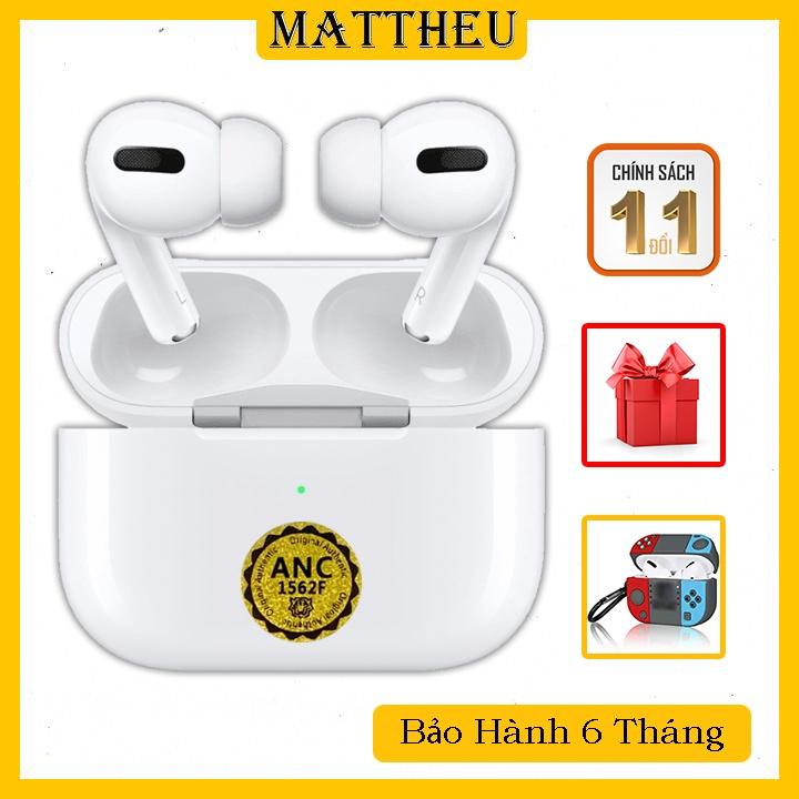 Airpods Pro Hổ Vằn 1562F - Airpods Pro 1562A - Tặng Case + Củ Sạc iPhone - Tai Nghe Bluetooth Chống ồn ANC - Xuyên Âm HD