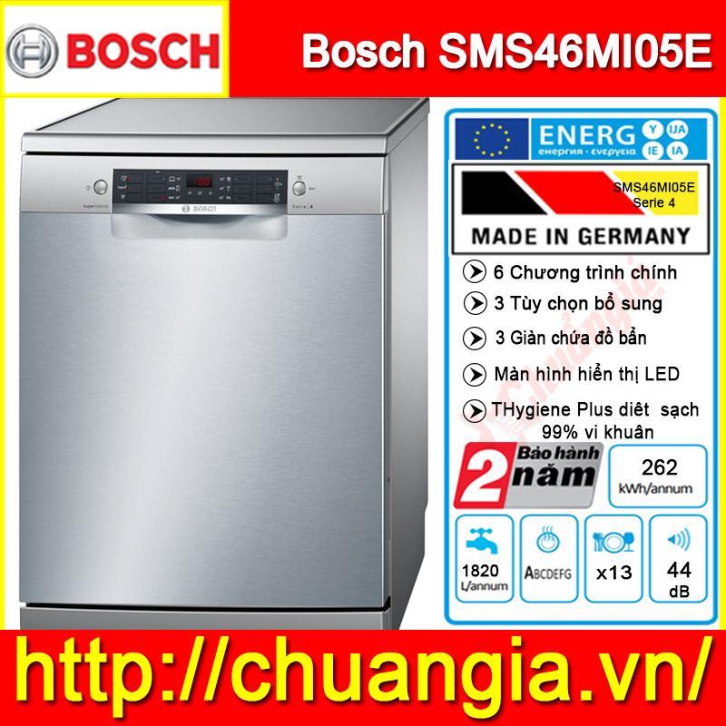 Máy Rửa Bát SMS46MI05E Serie 4