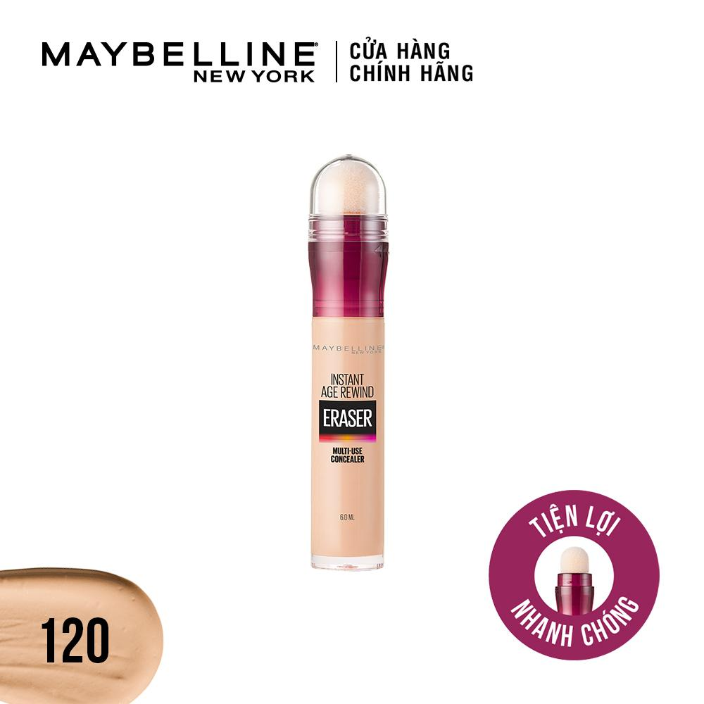 Bút cushion che khuyết điểm giảm quầng thâm Maybelline New York Instant Age Rewind Concealer 6ml