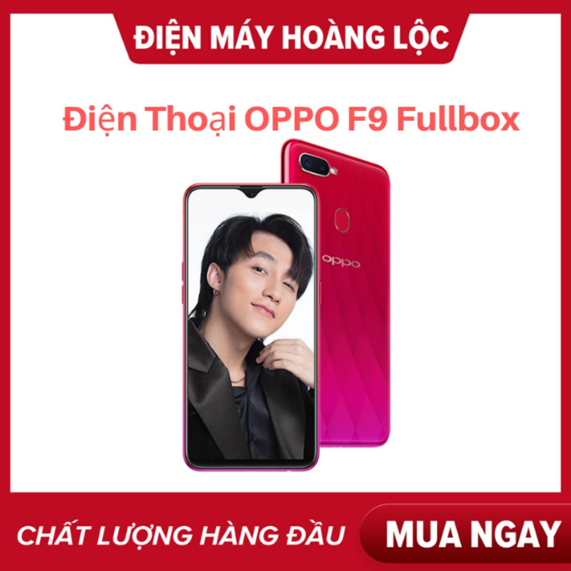 Điện thoại OPPO F9 2sim ram 4G bộ nhớ 64G Fullbox - Siêu phẩm màn hình Giọt nước