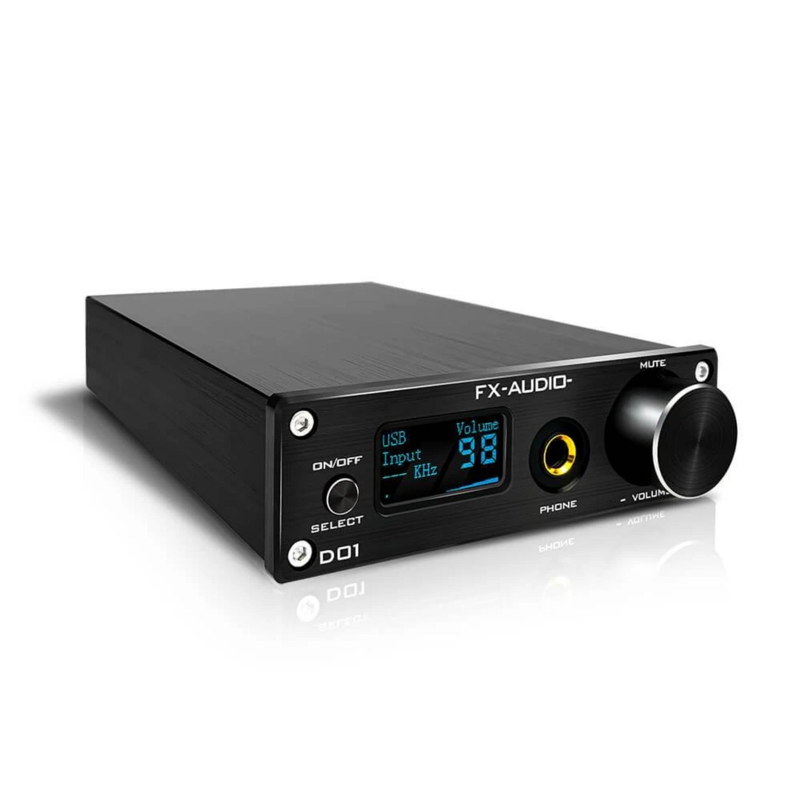 Giải Mã Âm Thanh FX-Audio DAC D01 Bản Nâng Cấp Hoàn Hảo DAC X7