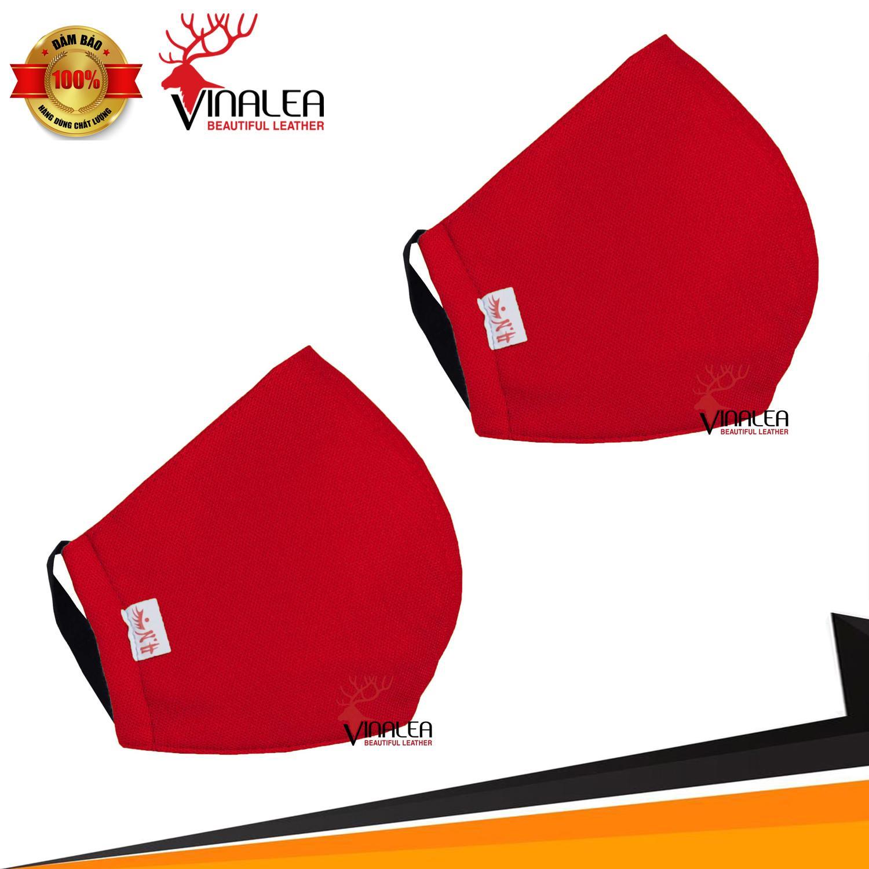 Combo 2 khẩu trang vải Việt Nam loại tốt chống bụi độc nhẹ giúp phòng ngừa virus