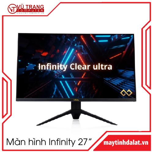 Màn hình phẳng Infinity Clear Ultra 27 inch QHD 165Hz 1ms