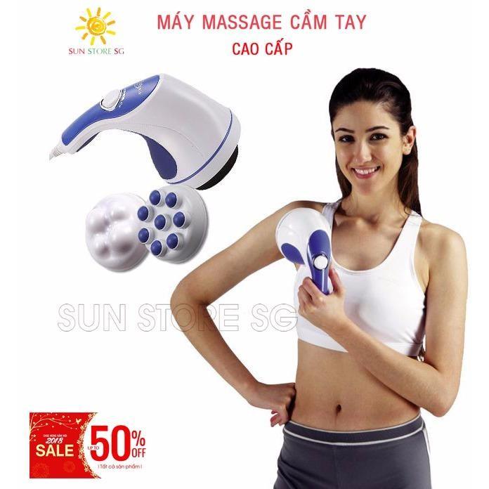 Mát Xa Đánh Tan Mỡ Bụng  - Máy Massage  cầm tay Cao cấp - Giúp thư giãn và thon gọn cơ thể - Giảm 50% trong hôm nay chỉ có tại LAZADA