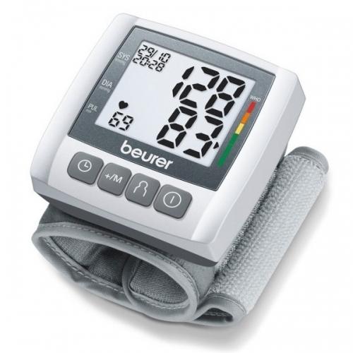 Máy đo huyết áp điện tử cổ tay Beurer BC30 (Trắng)