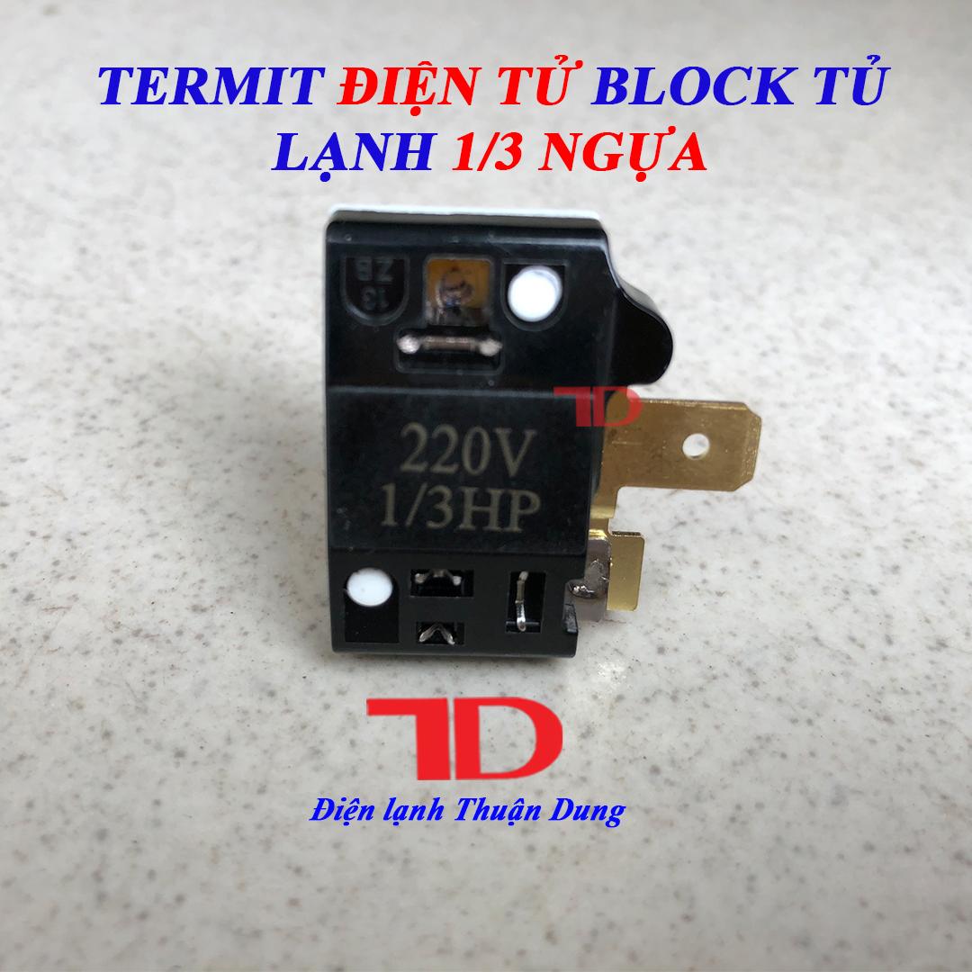 Termit Block Tủ Lạnh 1 phần 3 Rờ le Block tủ lạnh