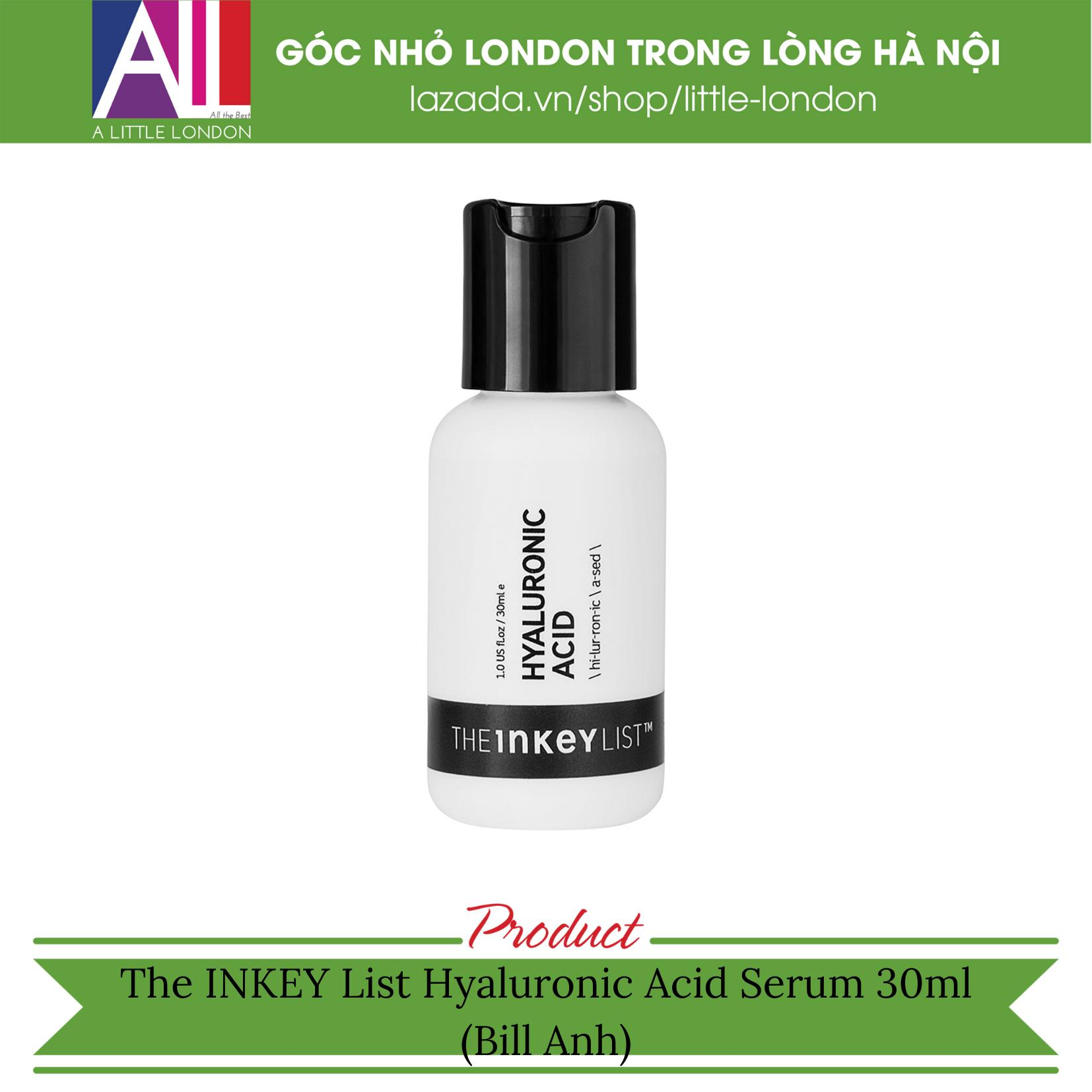 The INKEY List Hyaluronic Acid Serum 30ml (Bill Anh)