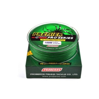 100M Super Strong PE Braided Fishing Line 15LB Green by WangWangStore - intl