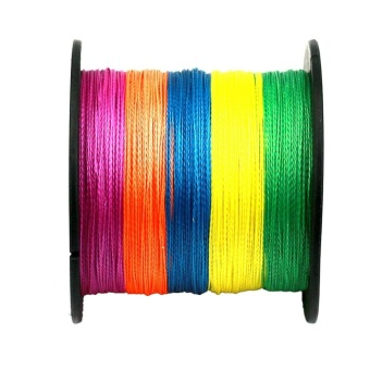 4 Strands Super Strong Durable PE Braided Fishing Line 500M Colour 2.0 - intl