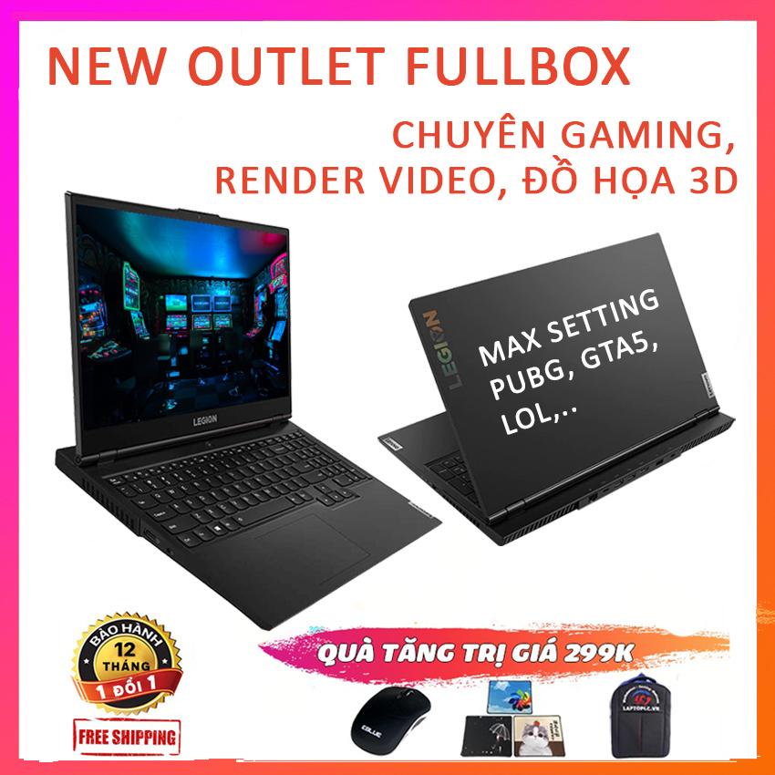 """[Trả góp 0%][New Seal 100%] Lenovo Legion 5- 15ARH05 ( Ryzen R7-4800H RAM 16G SSD 256G NVMe VGA NVIDIA GTX 1660Ti- 6G màn 15.6"""" Full HD IPS 144Hz 100% sRGB)"""
