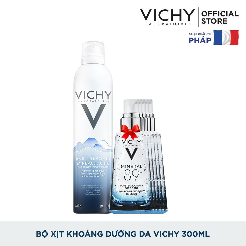 Bộ xịt khoáng dưỡng da Vichy Mineralizing Thermal Water 300ML
