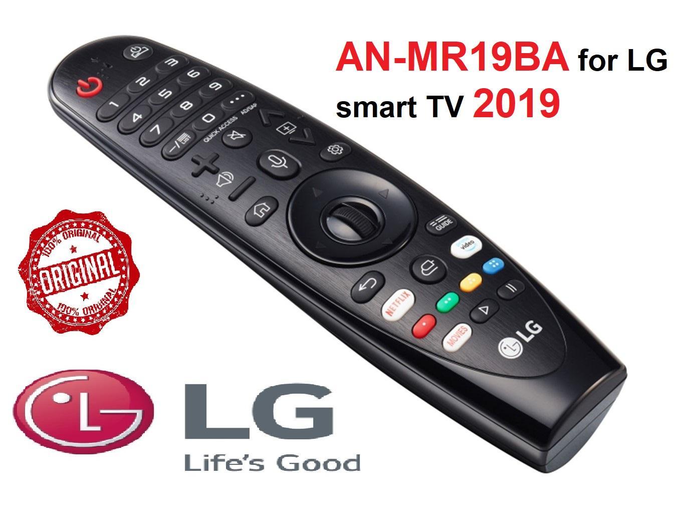 Điều khiển LG Magic Remote AN-MR19BA cho smart tivi LG 2019 ( Remote thông minh - Hàng hãng - Tặng pin)