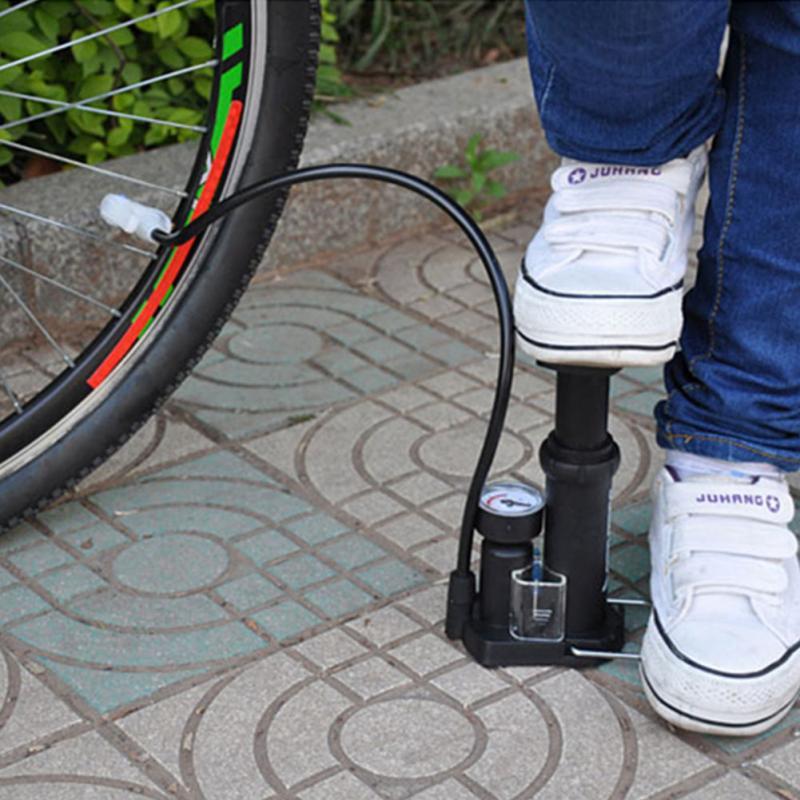 Bơm xe mini - bơm xe may đạp chân mini gấp gọn - Hàng cao cấp tiện dụng