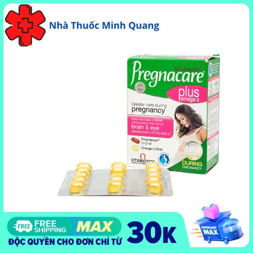 Vitamin bà bầu Pregnacare Plus Omega 3 của Anh 56 viên - hỗ trợ sức khỏe của mẹ và sự phát triển toàn diện của bé.