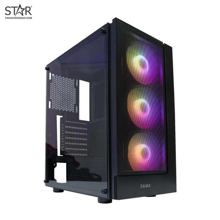 [Trả góp 0%][Nhập ELMAR31 giảm 10% tối đa 200k đơn từ 99k] Case máy tính để bàn cấu hình main B250 Gaming k4 + CPU i5 6600 + ram 8g ddr4 2666 + nguồn X450 + VGA GTX 750ti 2gb ddr5 128 bit + vỏ case sama 3301 3 fan led + SSD 120gb + HDD 500gb